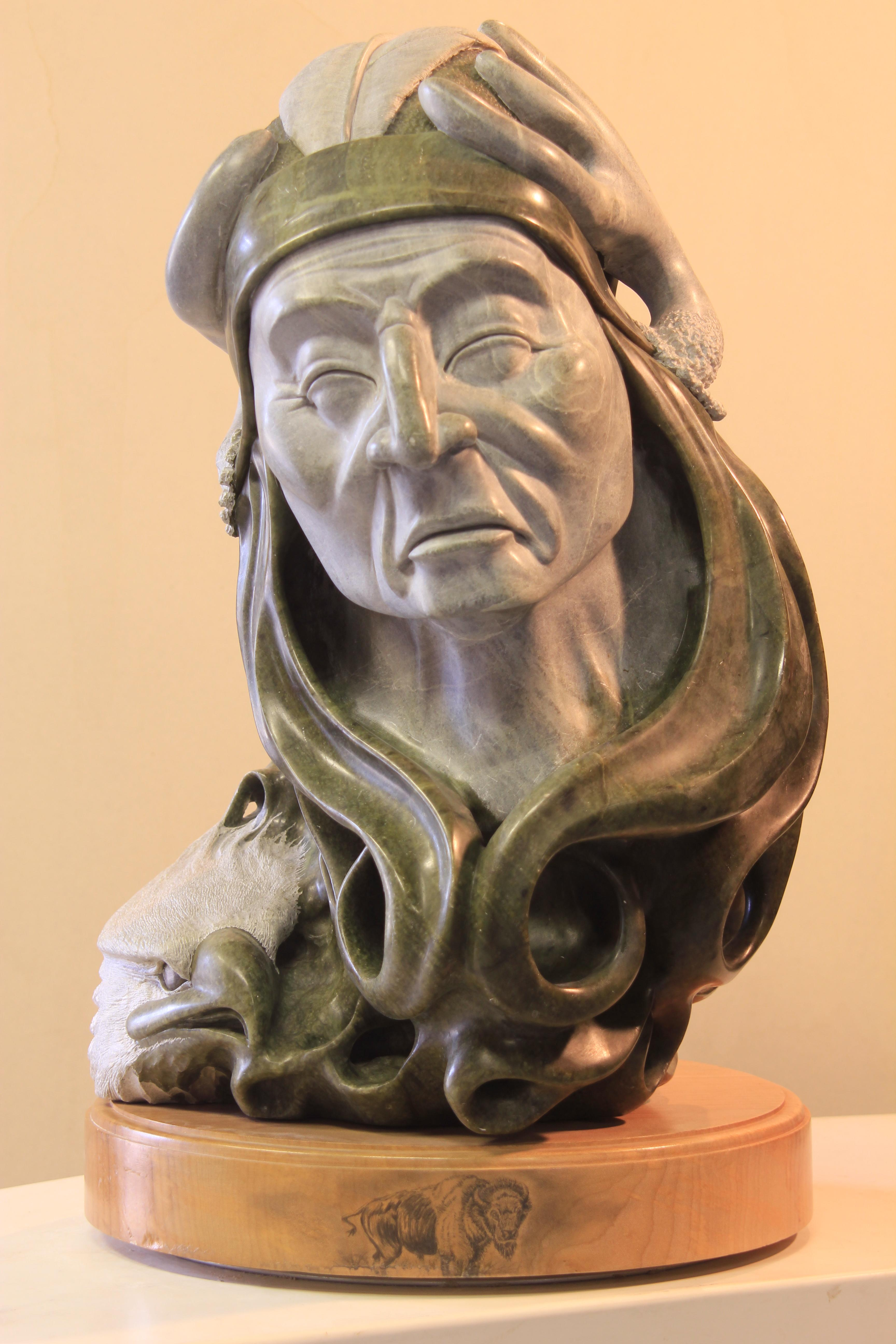 Soapstone carvings by kevin peters sculptures